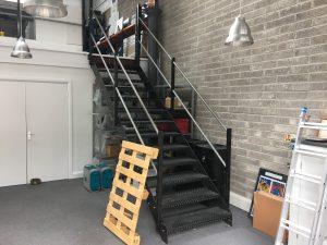 Unit 16 Mezzanine Stairs